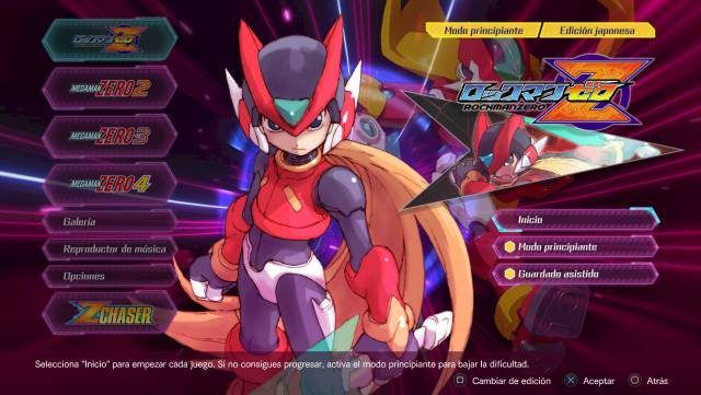 Mega Man Legacy Collection Zero / ZX