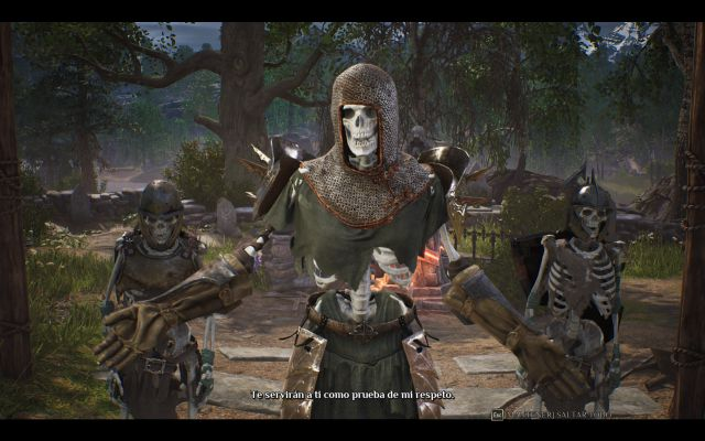 King's Bounty 2, ps4, xbox one, switch, computer, skeleton, recruiter, enemy